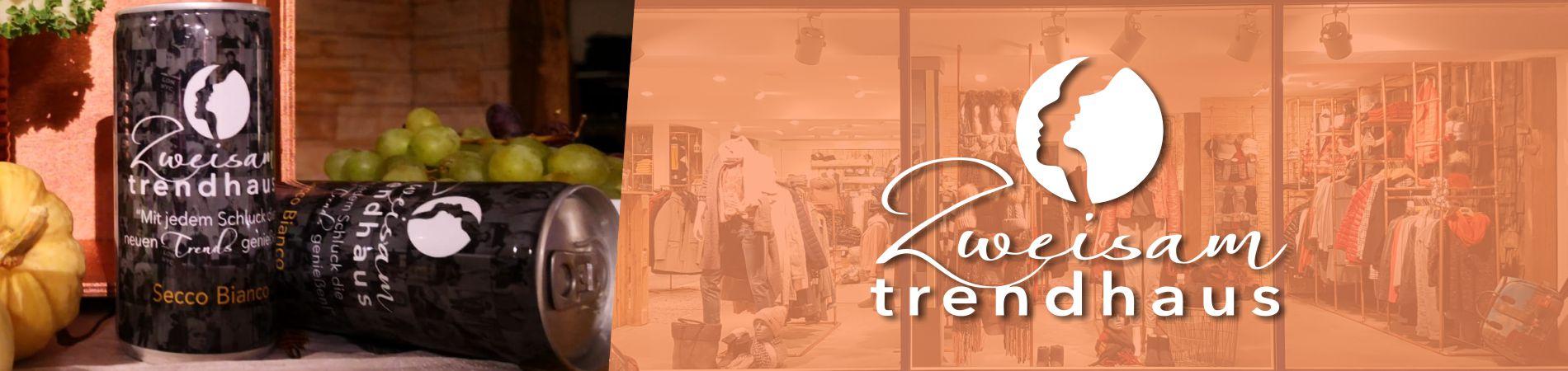 Zweisam trendhaus kategorie Logo banner
